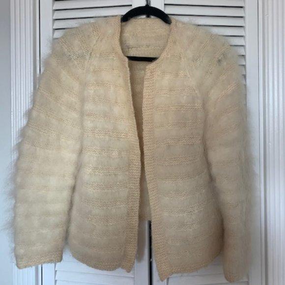 Vintage Jackets & Blazers - Vintage Cream Jacket -Small